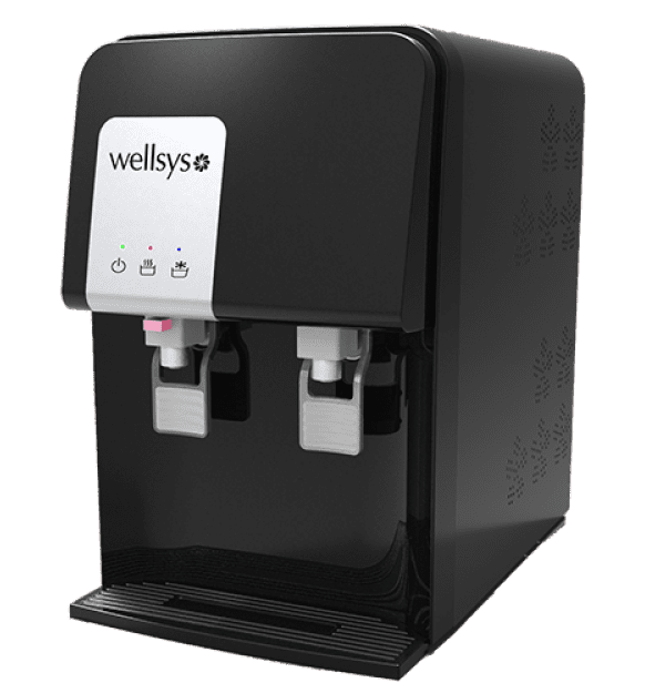 wellsys countertop bottleless water cooler
